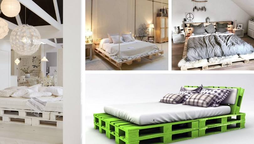 DIY pallet bed ideas - Practical and stylish ideas for comfortable sleeping  area   My desired home