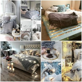 Cocooning bedroom decor - discover the Scandinavian hygge with our 63 inspiring photos