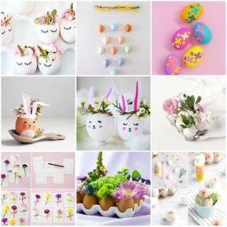 Easter DIY crafts and decorations - more than 50 very creative ideas for young and old