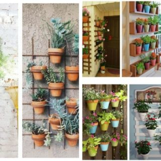 20+Insping ways to hang pots on walls