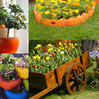 Spring and Summer – Unique ideas for decorating garden, patio & balcony
