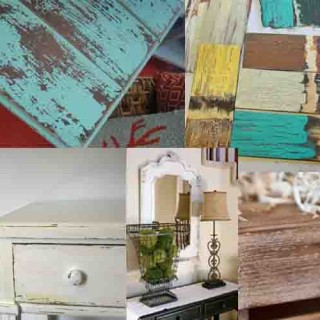 Antique Wood Techniques: 10 wonderful ways to make wooden furniture look old